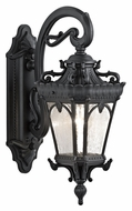 Kichler 9356BKT Tournai Traditional 18 Inch Tall Exterior Wall Light Fixture - Textured Black