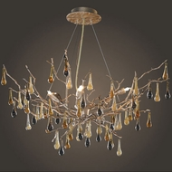 ELK 1721-6 Bijou Rustic 6-Light Chandelier