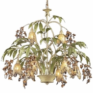 ELK 86054 Huarco Rustic 8-Light Chandelier