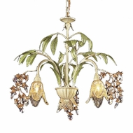 ELK 86052 Huarco Rustic 3-Light Chandelier
