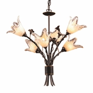 ELK 7958-6 Fioritura Rustic 6-Light Chandelier