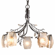 ELK 7947-5 Alitalia Rustic 5-Light Chandelier