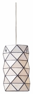 Landmark 72021-1 Tetra Contemporary Polished Chrome Mini Lighting Pendant