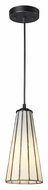 Landmark 70000-1CW Lumino Comet White Mini 12 Inch Tall Bar Lighting Fixture