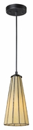 Landmark 70000-1HB Lumino Mini 5 Inch Diameter Hazy Beige Hanging Light - Modern