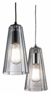 Landmark Menlow Park 10 Inch Tall Cone Shape Mini Pendant Light