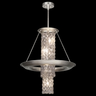Fine Art 813740 Celestial Medium 27 Inch Diameter Silver Leaf Drop Lighting