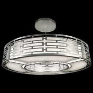 Fine Art 816540GU Allegretto Silver Leaf Finish 80 Inch Diameter Drop Ceiling Lighting