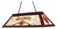 Landmark 70053-4 44 Inch Wide Tiffany Bronze Billiard Lighting Fixture - 4 Lamps