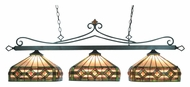 Landmark 190-11-TB-T8 58 Inch Wide Tiffany Bronze Finish Kitchen Island Lighting Fixture