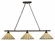 Landmark 70108-3 Lumino 52 Inch Wide 3 Lamp Kitchen Island Light With LED Option