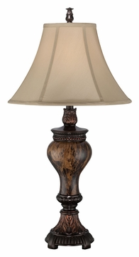 Lite Source C41300 Jerold Marble 32 Inch Tall Traditional Bedroom Table Lamp
