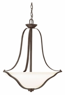 Kichler 3384OZ Langford Olde Bronze 22 Inch Diameter Inverted Pendant Lighting