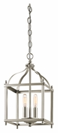 Kichler 42565NI Larkin 8 Inch Wide 2 Lamp Brushed Nickel Foyer Lighting Pendant