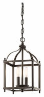 Kichler 42565OZ Larkin Transitional Olde Bronze Small Foyer Pendant Lighting
