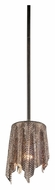 Kichler 42679OZ Olde Bronze Contemporary Mini Pendant Hanging Lamp