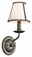 Kichler 43343OZ Donington Olde Bronze 14 Inch Tall Wall Lighting Fixture