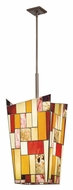 Kichler 65386 Shindy Tiffany 15 Inch Wide Foyer Pendant Lighting - Olde Bronze