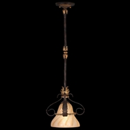 Fine Art 237040 Castile 11 Inch Diameter Antique Drop Ceiling Light Fixture