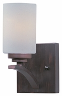 Maxim 20030SWOI Deven Oil Rubbed Bronze 9 Inch Tall Transitional Lighting Sconce