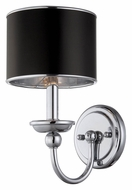 Lite Source LS-16806 Nicci Transitional Style 12 Inch Tall Chrome Wall Lighting