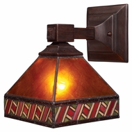 Landmark 771-MB Santa Fe Mission Bronze 10 Inch Tall Wall Light Fixture