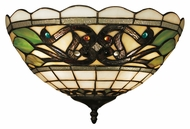 Landmark 70097-2 Tiffany Buckingham 14 Inch Wide Pocket Wall Sconce Light Fixture