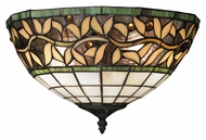 Landmark 70100-2 English Ivy 14 Inch Wide Tiffany Pocket Wall Sconce Lighting