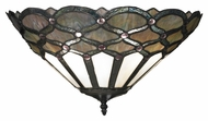 Landmark 70096-2 Gameroom 16 Inch Wide Tiffany Bronze Pocket Wall Lighting Fixture