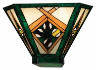 Landmark 70094-2 Gameroom 9 Inch Tall Tiffany Bronze Lighting Sconce