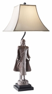 Feiss 10211MNGC 34 Inch Tall Mongolian Clay Finish Table Lamp