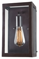 Landmark 63020-1 Parameters-Bronze 14 Inch Tall Contemporary Wall Light Fixture