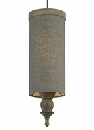 Tech Weston Low Voltage 5 Inch Diameter Fog Fabric Mini Pendant Lighting