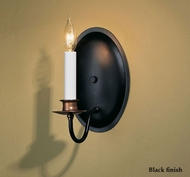 Hubbardton Forge 20-4210 Traditional Candle Oval Backplate Wall Sconce
