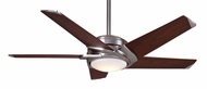 Casablanca CAS-C45G45B Stealth DC Contemporary Brushed Nickel 54 Inch Span Ceiling Fan Lighting