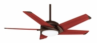 Casablanca CAS-C45G695B Stealth DC Alpha Bronze Contemporary Ceiling Fan Lighting