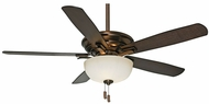 Casablanca CAS-54080 Academy Gallery 5 Blade 54 Inch Span Ceiling Fan Light Fixture