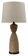Dimond HGTV129 Natural Rope 32 Inch Tall Rustic Table Light