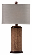 Dimond HGTV159 21 Inch Tall Natural Cork Living Room Table Lamp
