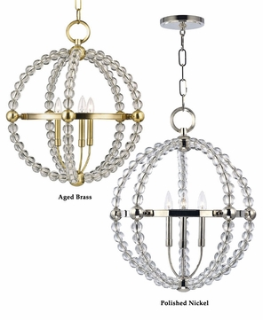 valley 3120 danville small 3 lamp crystal hanging ball light fixture