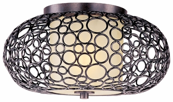 Maxim 21340DWUB Meridian Small 1-light Flush Mount Ceiling Light