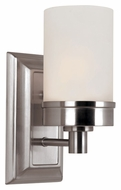 Trans Globe 70331 BN Transitional 10 Inch Tall Wall Lighting Fixture - Brushed Nickel