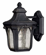 Hinkley 1316MB Trafalgar 10 Inch Tall Museum Black Outdoor Sconce Lighting