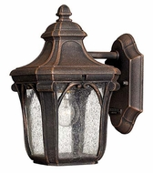 Hinkley 1316MO Trafalgar Mocha Finish 10 Inch Tall Exterior Wall Lighting