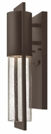 Hinkley 1326KZ Shelter Buckeye Bronze Finish 15 Inch Tall Modern Exterior Wall Light