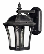Hinkley 1336MB Wabash Museum Black Finish 10 Inch Tall Outdoor Wall Light Fixture