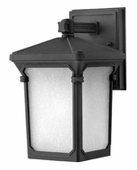 Hinkley 1356MB Stratford Small Museum Black Outdoor Wall Light - 10 Inches Tall