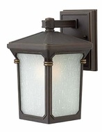 Hinkley 1356OZ Stratford Small Outdoor 10 Inch Tall Oil Rubbed Bronze Sconce Light