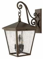 Hinkley 1438RB Trellis 1 Lamp 26 Inch Tall Regency Bronze Finish Exterior Wall Light