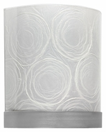 AFX GNS218SNECWWT Satin Nickel Finish 11 Inch Tall Decorative Wall Light